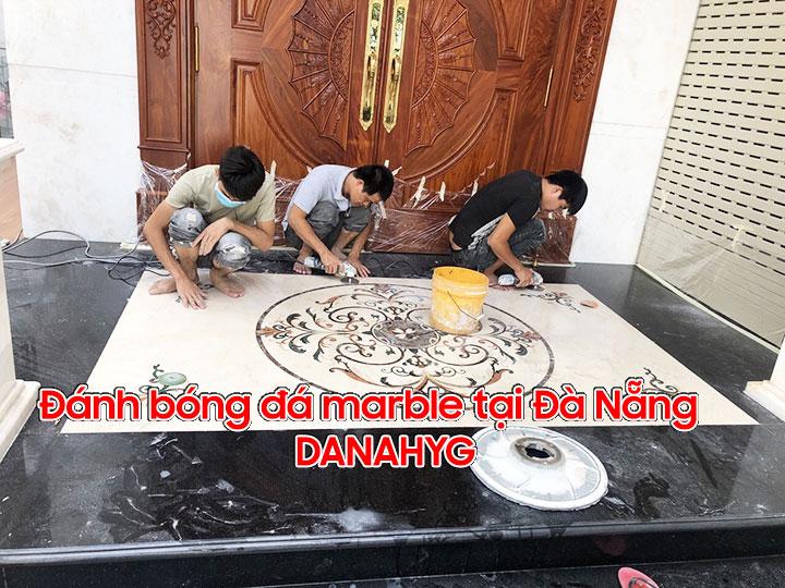 Đánh bóng đá marble tại Đà Nẵng