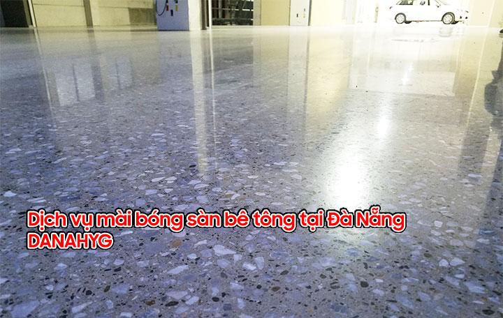 Dịch vụ mài bóng sàn bê tông tại Đà Nẵng