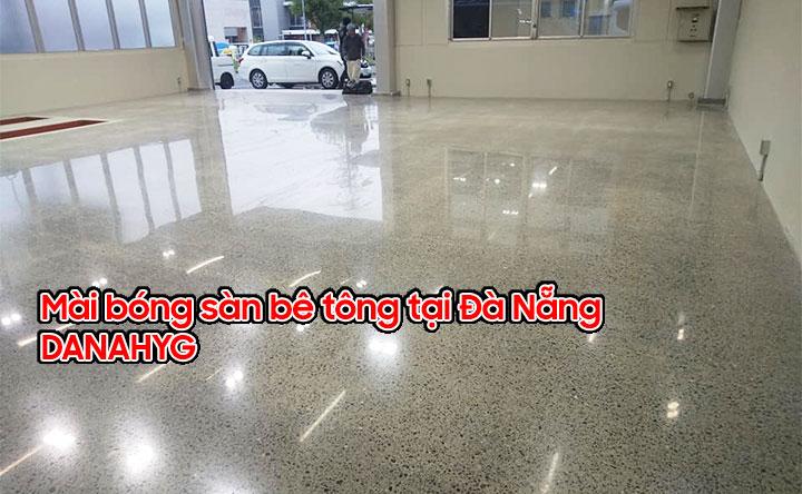 Mài bóng sàn bê tông tại Đà Nẵng