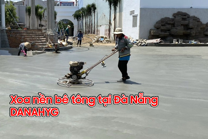 Dịch vụ xoa nền bê tông tại Đà Nẵng