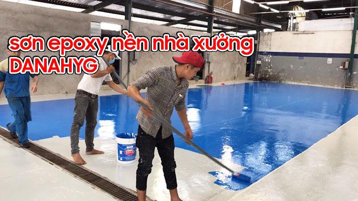 sơn epoxy nền nhà xưởng