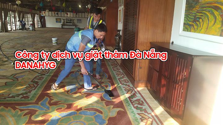Dịch vụ giặt thảm chuyên nghiệp tại Đà Nẵng