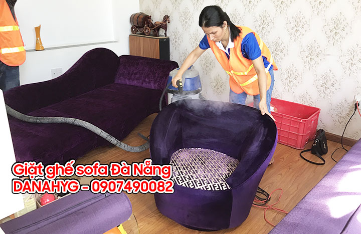 Giặt ghế sofa tại Đà Nẵng