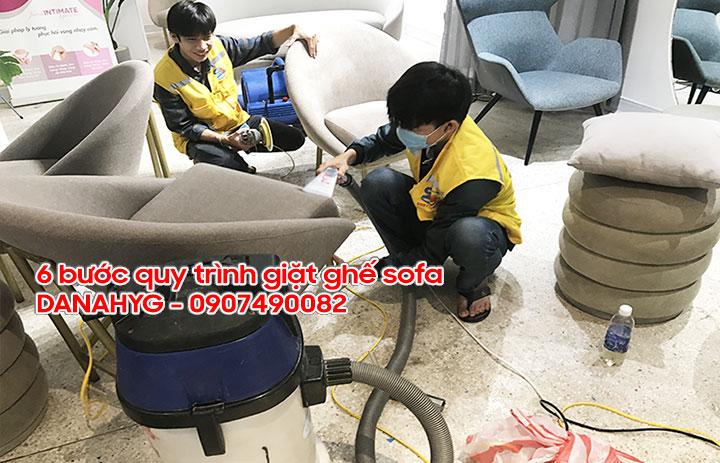 Quy trình giặt thảm chuyên nghiệp