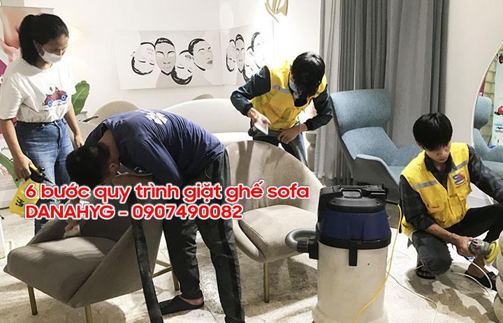 Giặt ghế sô pha chuyên nghiệp tại Đà Nẵng