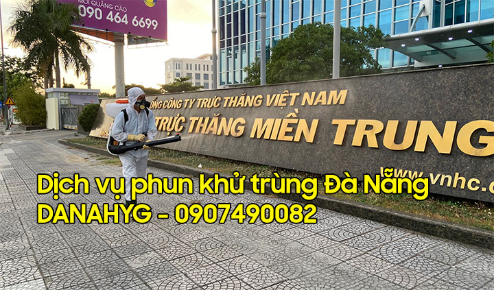Dịch vụ phun thuốc khử trùng Đà Nẵng