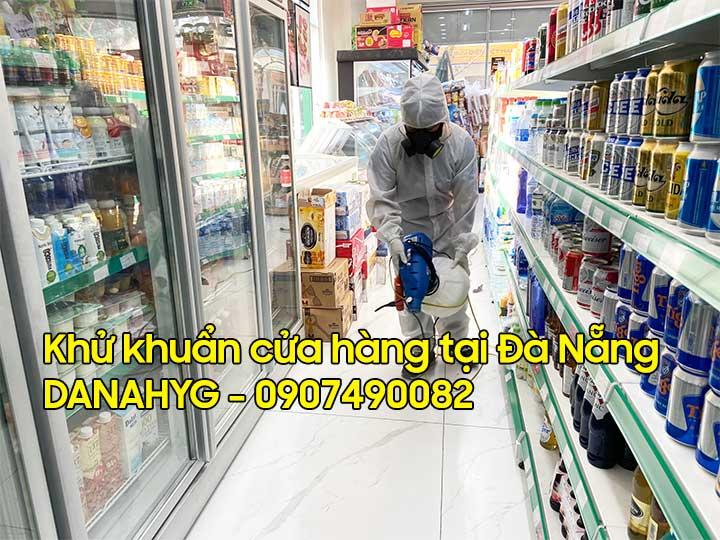Dịch vụ phun khử khuẩn shop, cửa hàng bán lẻ, siêu thị mini