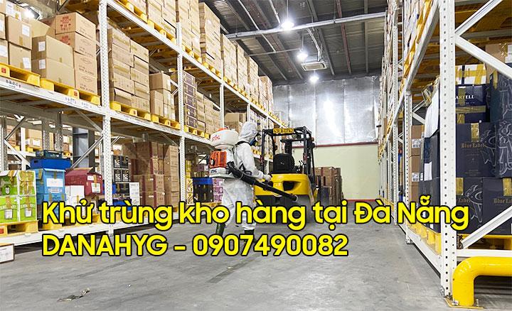 Khử trùng kho hàng tại Đà Nẵng