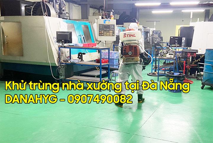 Khử trùng nhà xưởng Đà Nẵng