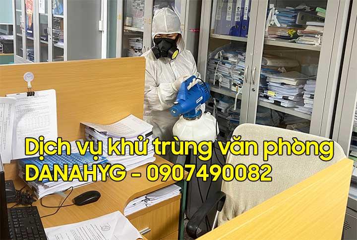 Dịch vụ khử trùng văn phòng