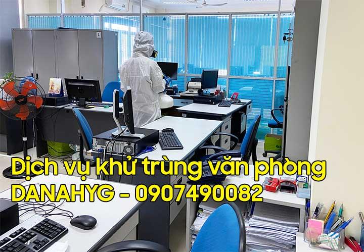 Khử trùng văn phòng Đà Nẵng