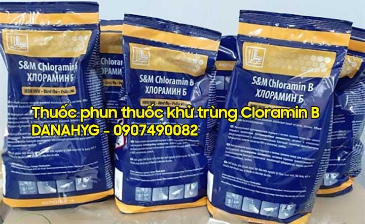 Thuốc phun khử trùng Covid-19 Cloramin B