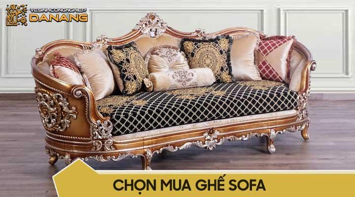 Chọn mua ghế sofa