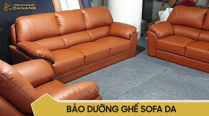 Bảo dưỡng ghế sofa da