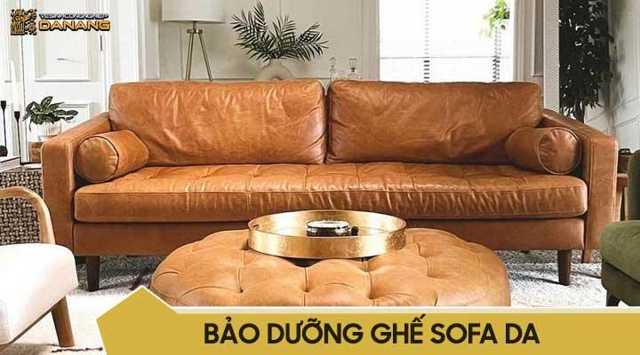 Vệ sinh sofa da