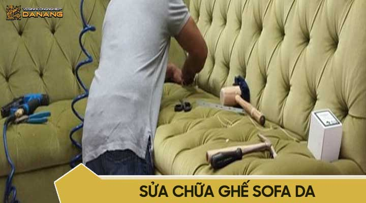 Sửa chữa ghế sofa da