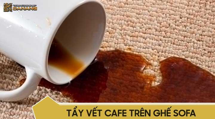Cách tẩy vết cafe trên ghế sofa
