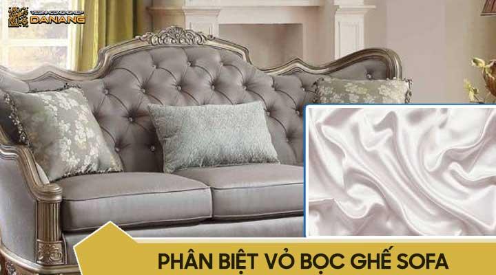 Ghế sofa bọc lụa